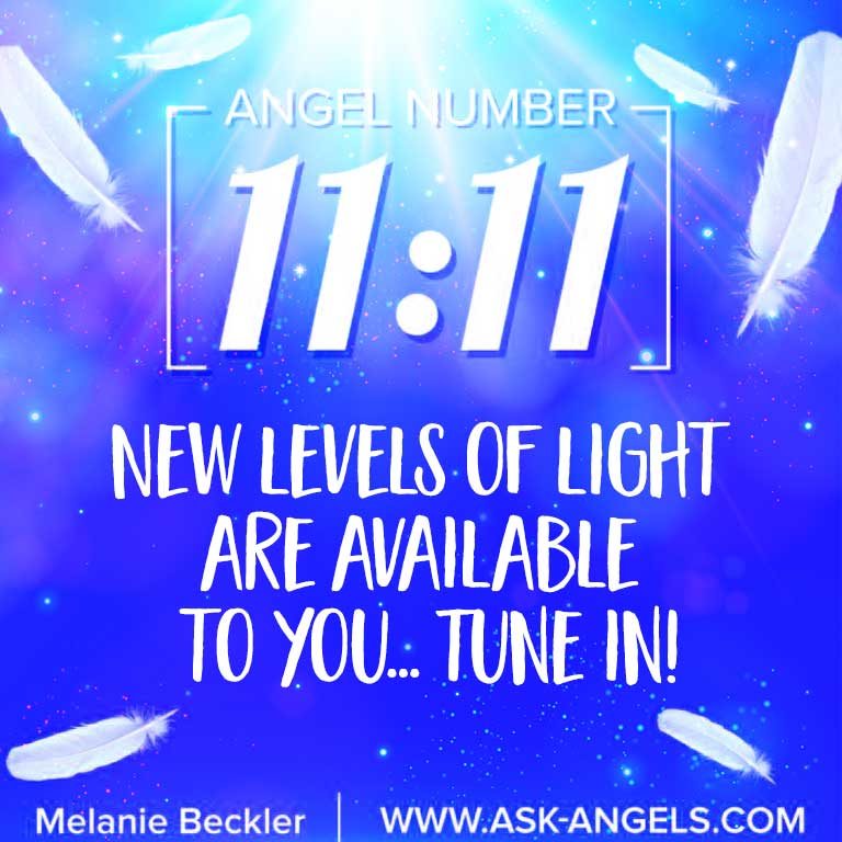 Seeing the Angel Number 1111? This is a common symbol from angels and spirit guides in heaven. Its also a sign that new levels of light are available to you on your path of spirituality and awakening when you become aware and tune in.
