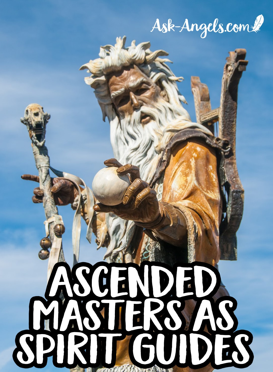 Ascended Masters as Spirit Guides, Merlin