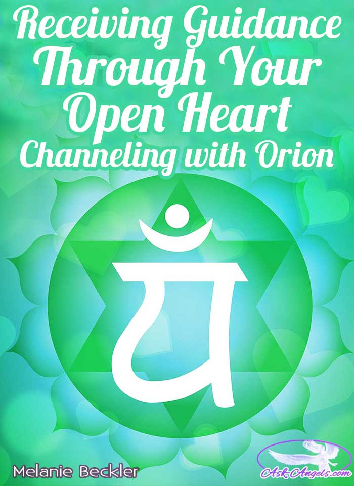 Receiving Guidance Through Your Open Heart