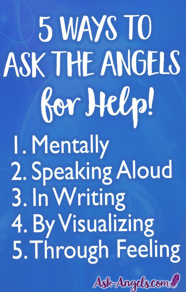 Wondering how to invoke angels? Here's 5 ways to ask the angels for help in a way that will get a response. Be sure to check out the article for added insight and guidance. #angelshelp