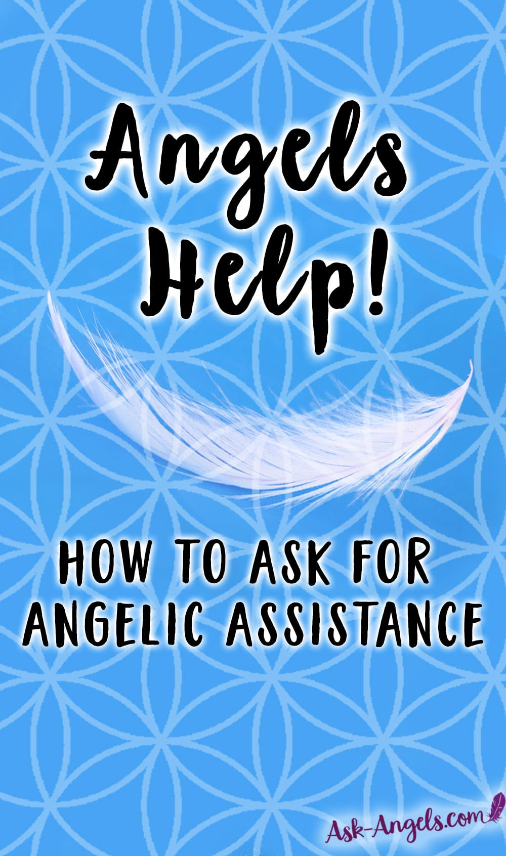 Spiritual guidance for invoking the Help of Angels with important tips and insight into how to ask for angelic help in your life.