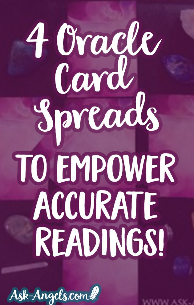 Learn 4 Oracle Card Spreads to empower accurate card readings every time!