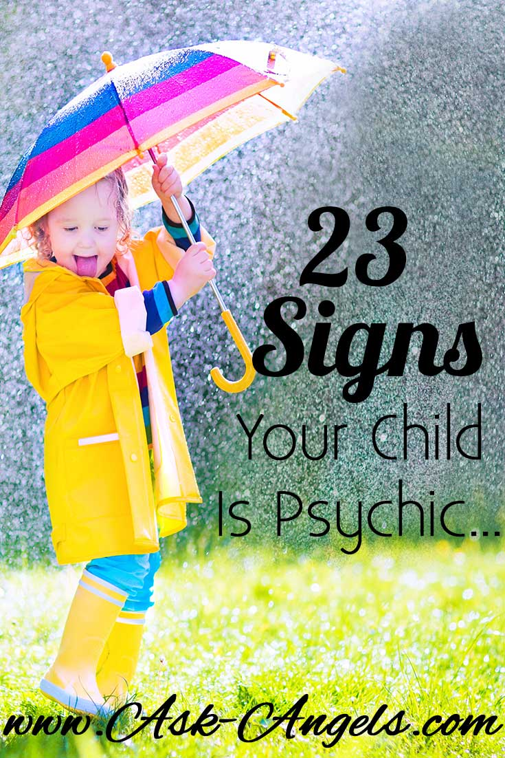 Signs Your Child is Psyhic