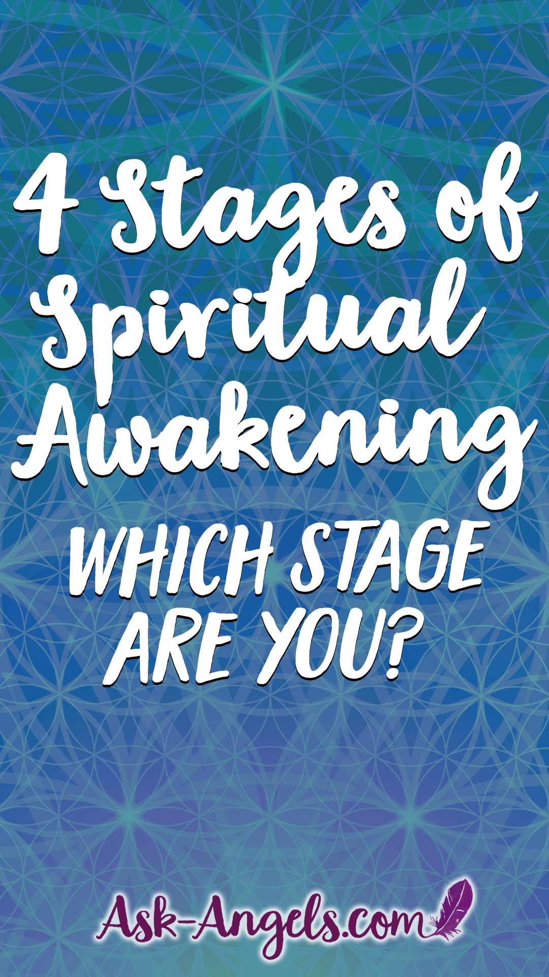Learn the 4 Stages of Spiritual Awakneing... Which stage are you?