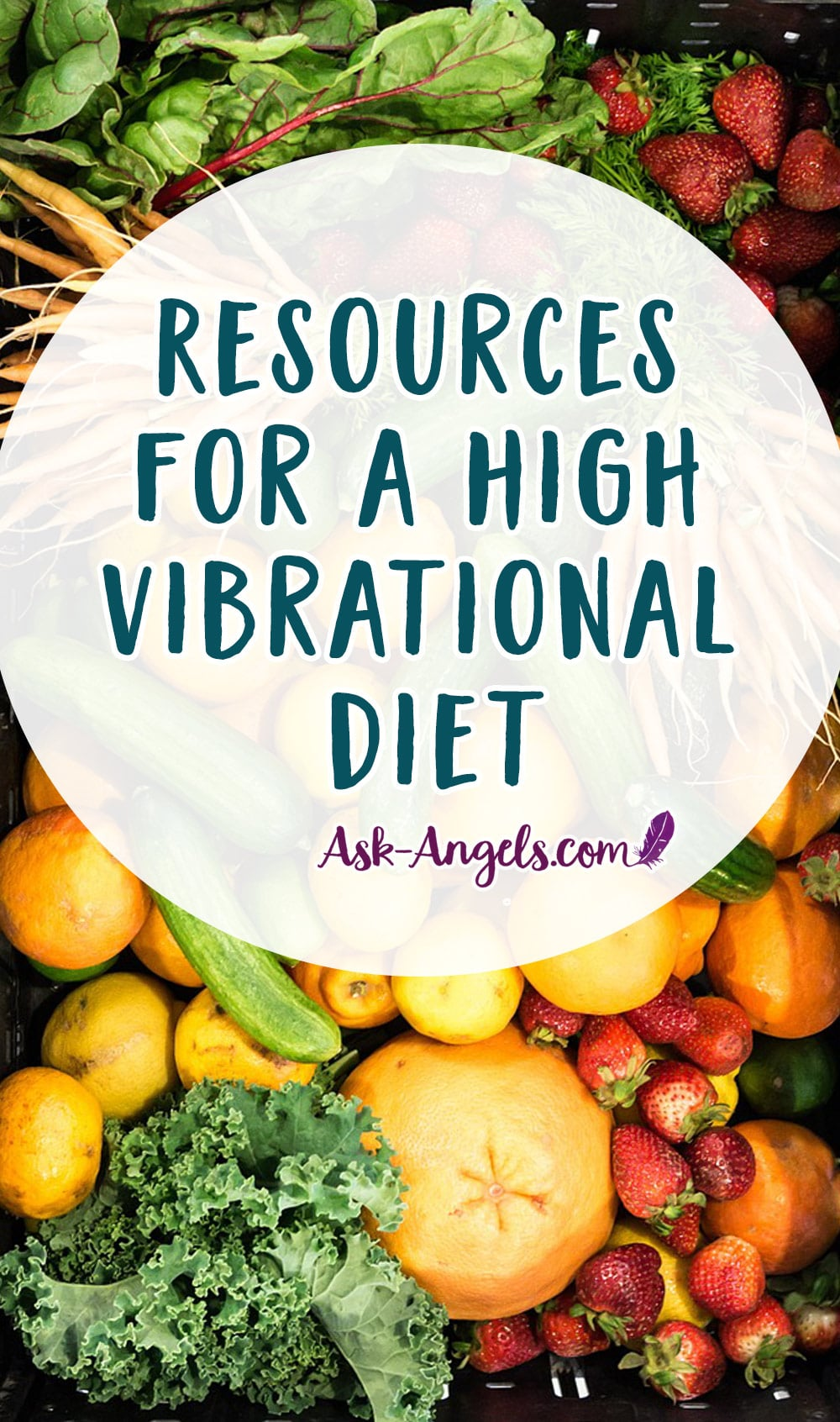 Resources for a High Vibrational Diet
