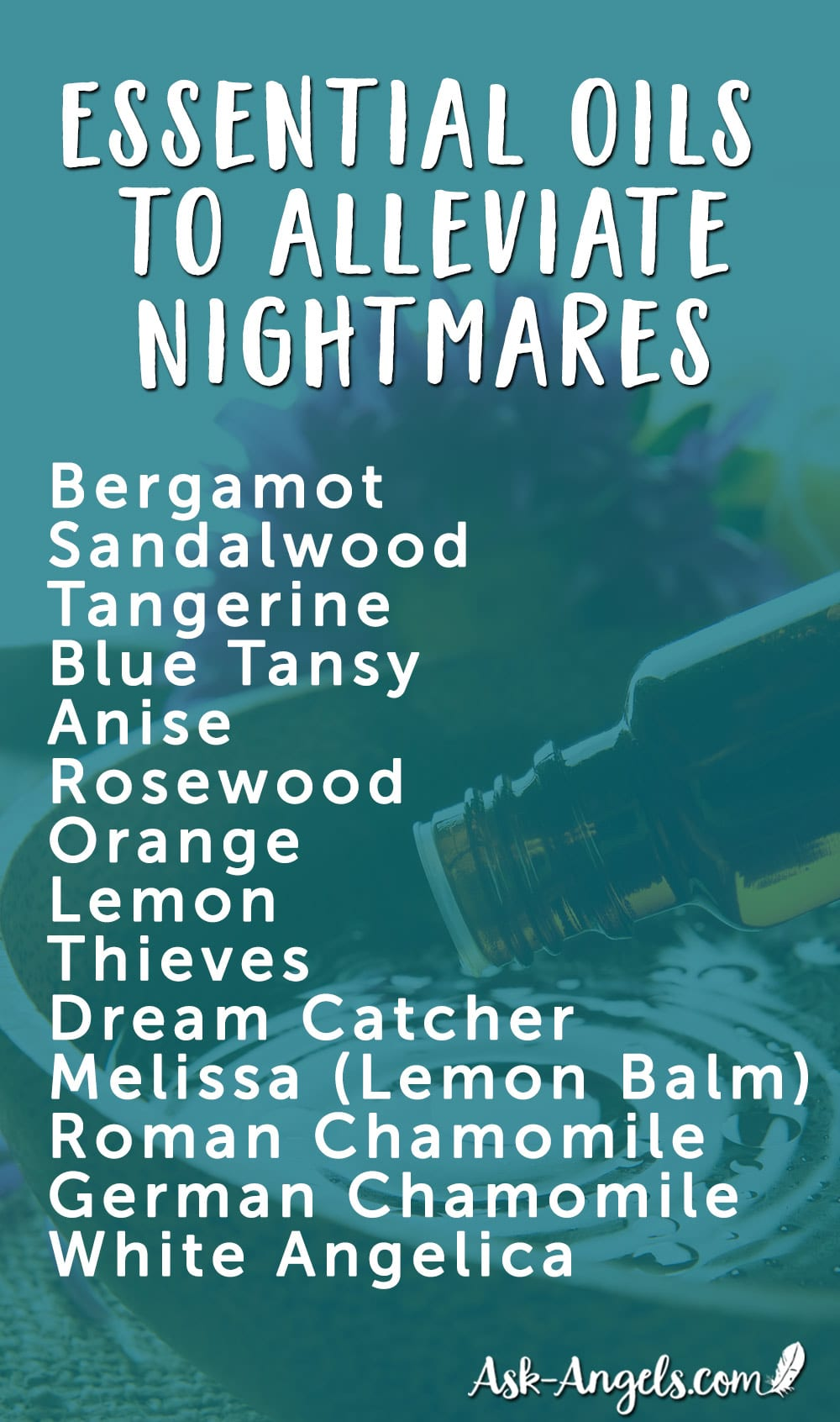 Essential Oils to Alleviate Nightmares
