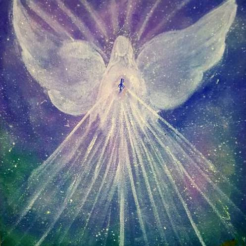 Angel Of Blessings by Krithiga Bala