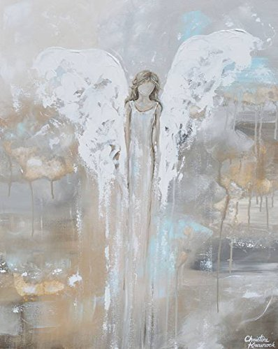 Angel Painting by Christine Krainock