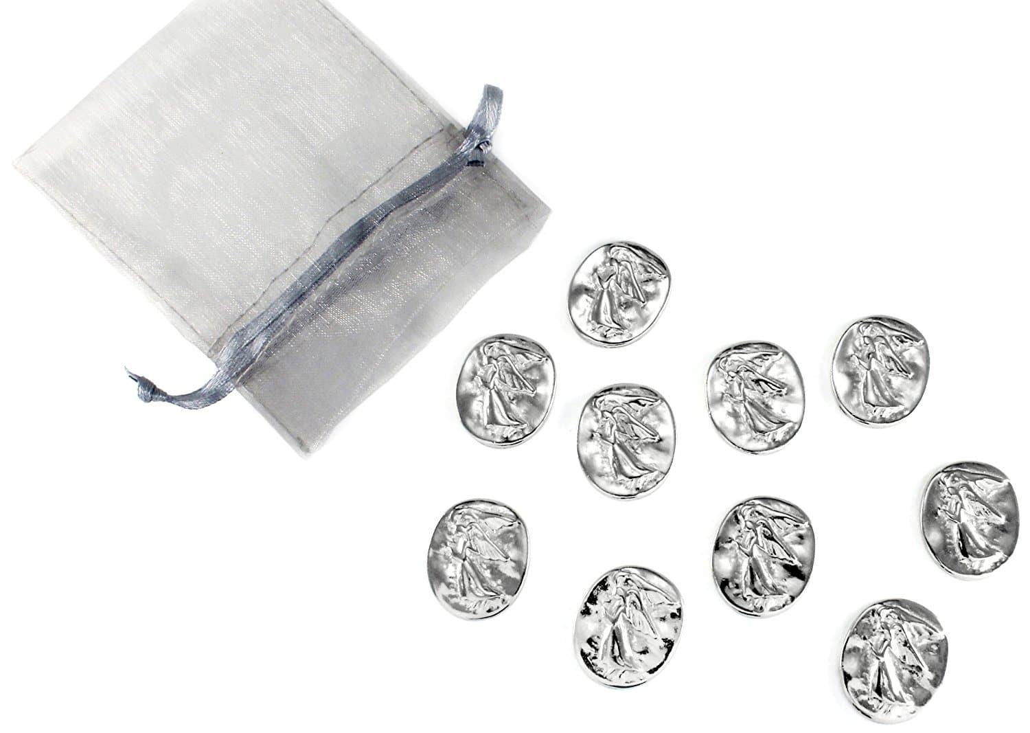 Pewter Angel Tokens