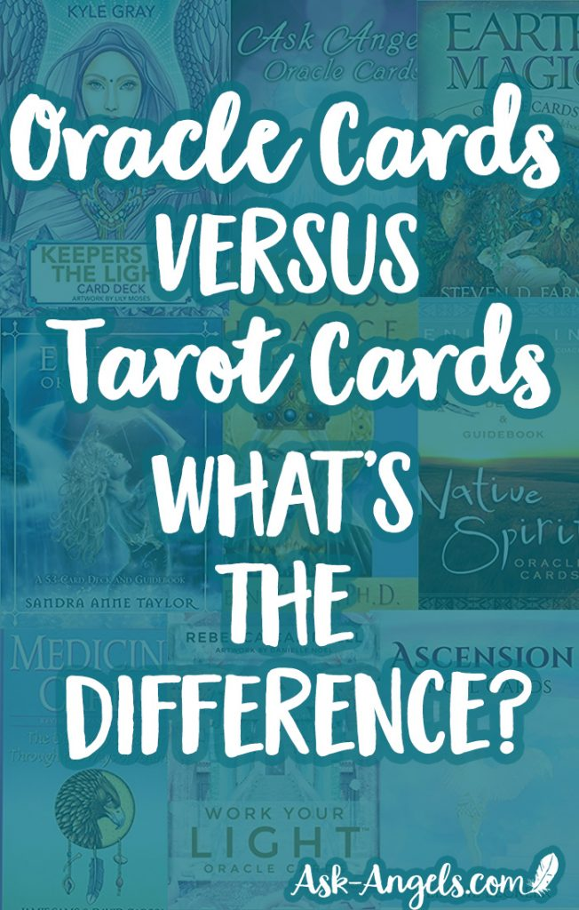 Oracle vs Tarot Cards, what's the difference between these two types of divination decks? #tarot #oraclecards