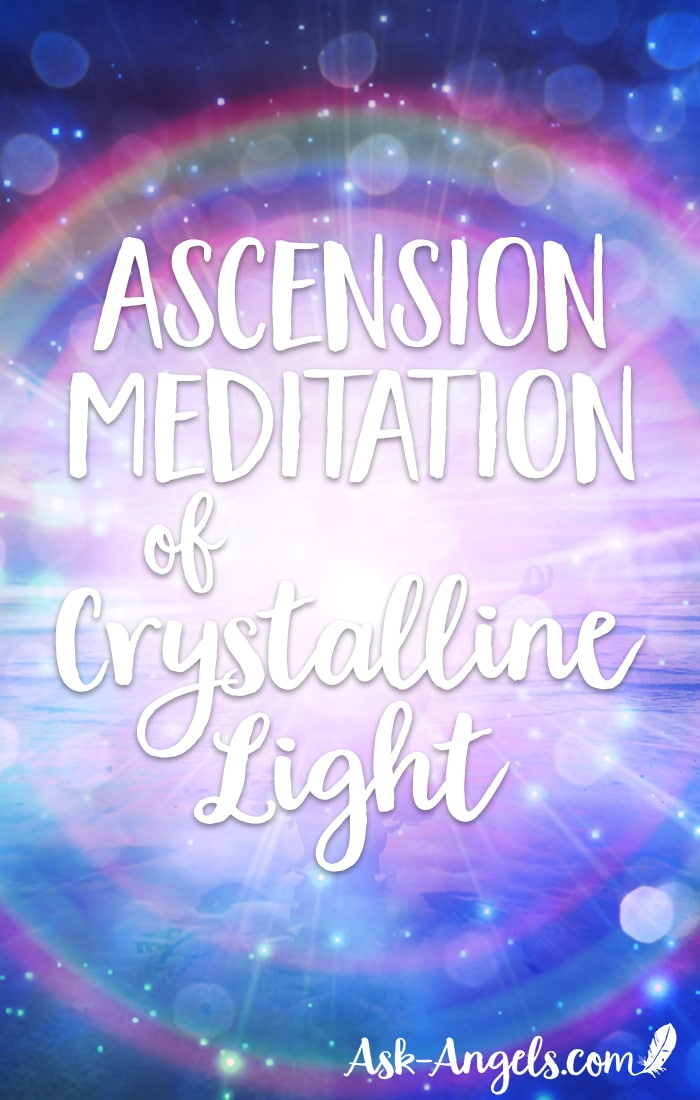 You're going to love this incredible high vibrational ascension meditation that guides you through a powerful energy clearing and crystalline asccension activation so you can shine and embody your highest light. #ascension #meditation #crystalline