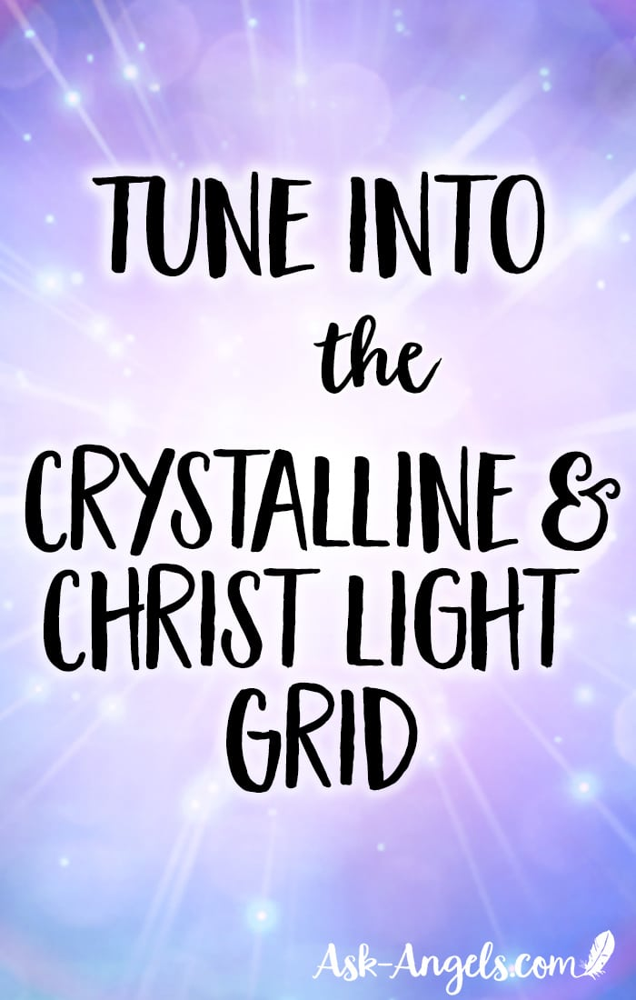 Tap into the power of connecting with the Crystalline and Christ Light Grid in this free ascension meditation. #meditation #crystalline #christconsciousness