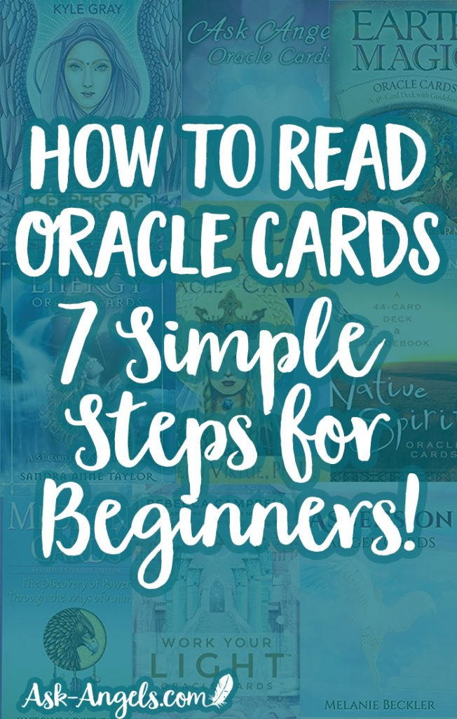 Learn 7 Simple Steps for How to Read Oracle Cards for Beginners! #oraclecards #cardreading