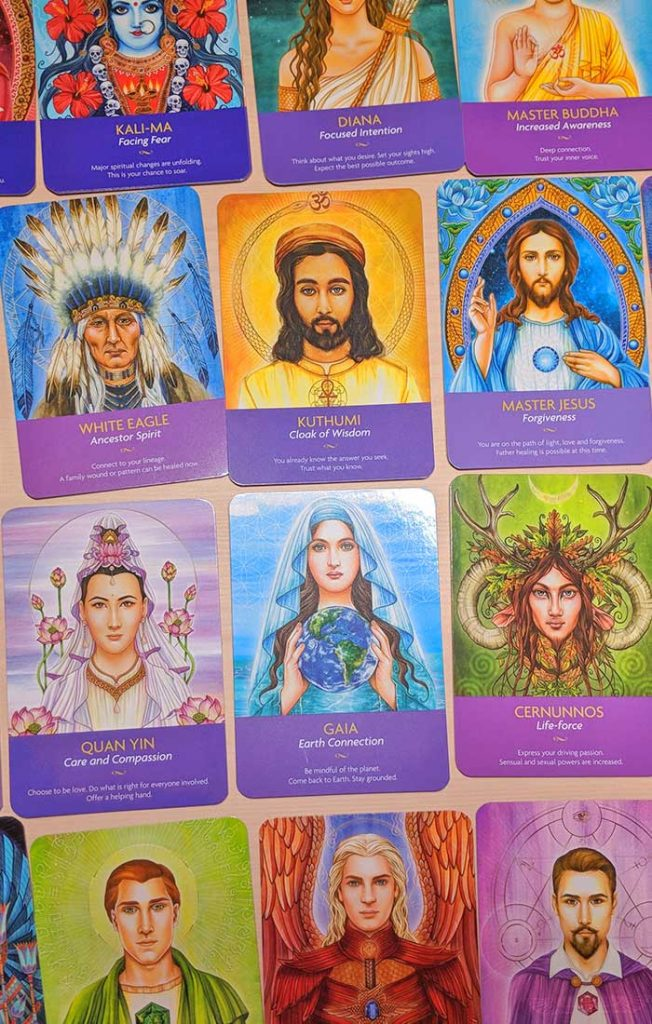 Keepers of the Light Oracle Cards Images