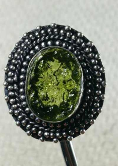 Example of a Fake Moldavite