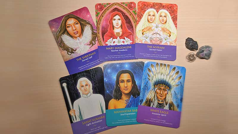 Keepers of the Light Oracle Card Images