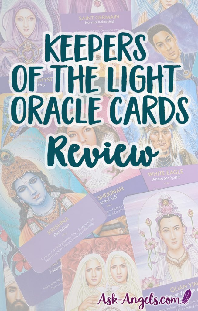 Keepers of the Light Oracle Cards Review. Is this the Oracle Deck for you? #oraclecards