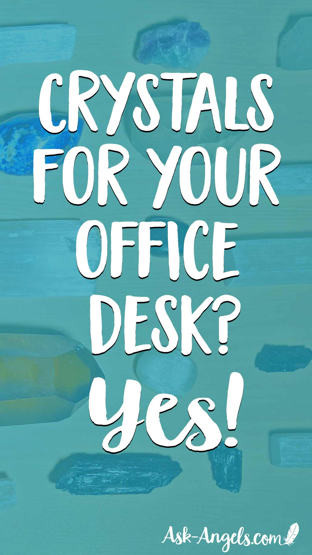 Keeping crystals on your office desk is the perfect way to help create a harmonious work atmosphere and support abundance, productiity, clarity and more! Learn my top picks here...