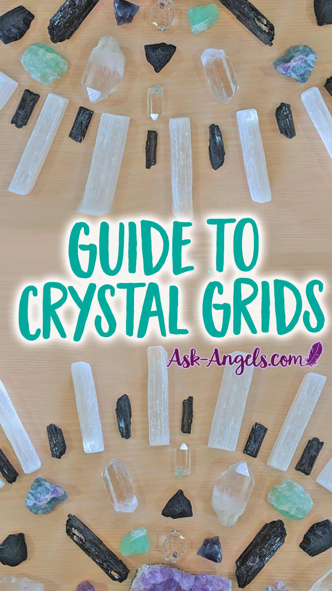 Crystal Grids - What is a crystal grid and how can you make one? Find out in this complete guide