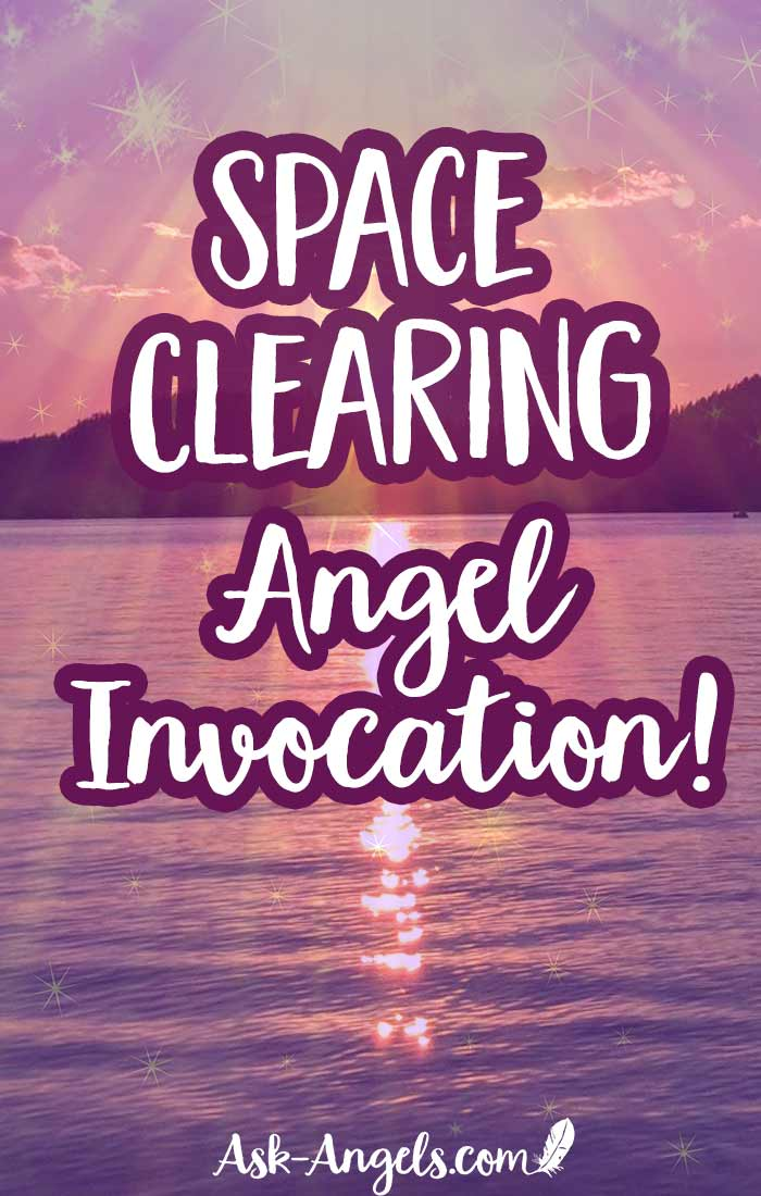 A short and powerful Space Clearing Invocation that calls upon real angels to clear your space, raise your vibration, and shift your energy fast! Simply relax and listen or repeat the words...