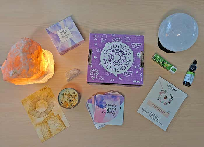 Goddess Provisions Review - Manifest Abundance Box 2019