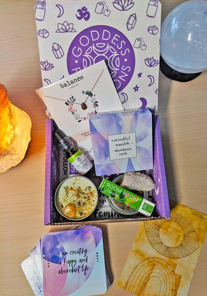 Look inside the Goddess Provisions Box in the Complete Review.
