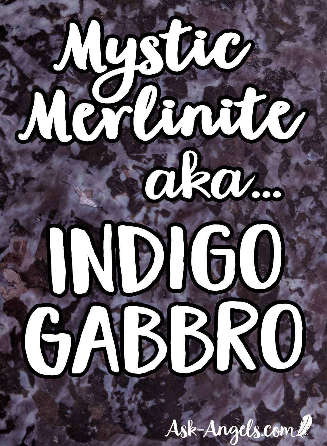 Indigo Gabbro alias Mystic Merlinite
