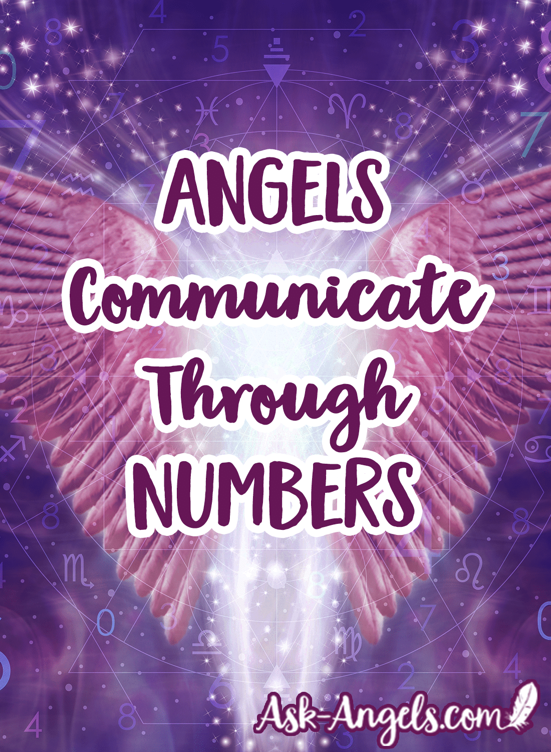 angels communicate through numbers