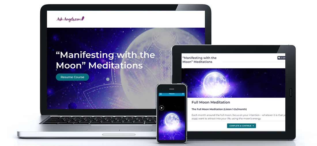 Manifesting with the Moon Meditations