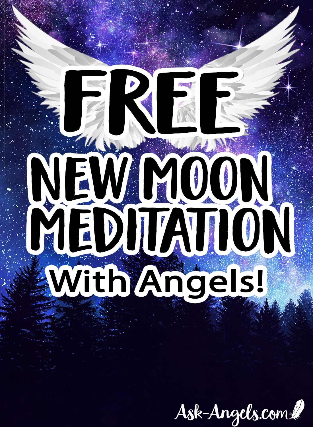 Free New Moon Meditation with Angels