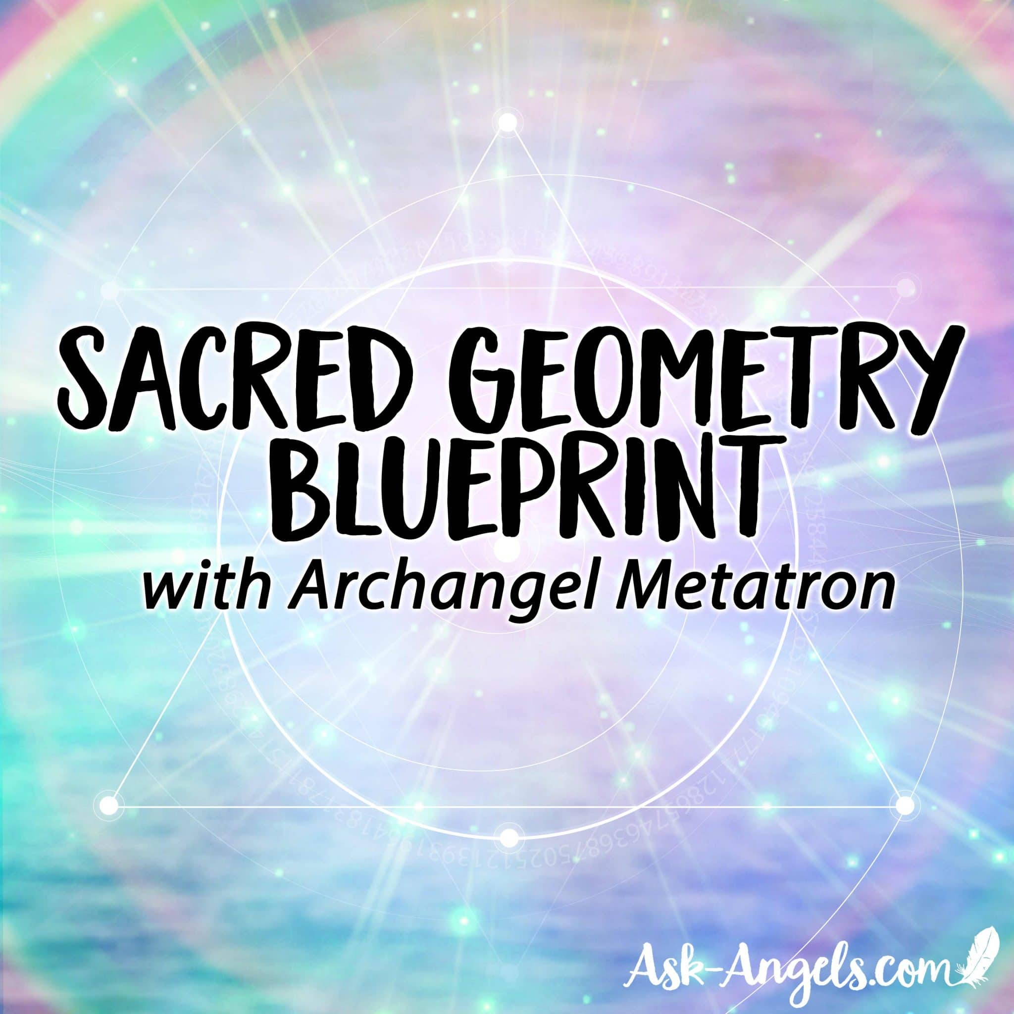Sacred Geometry Blueprint