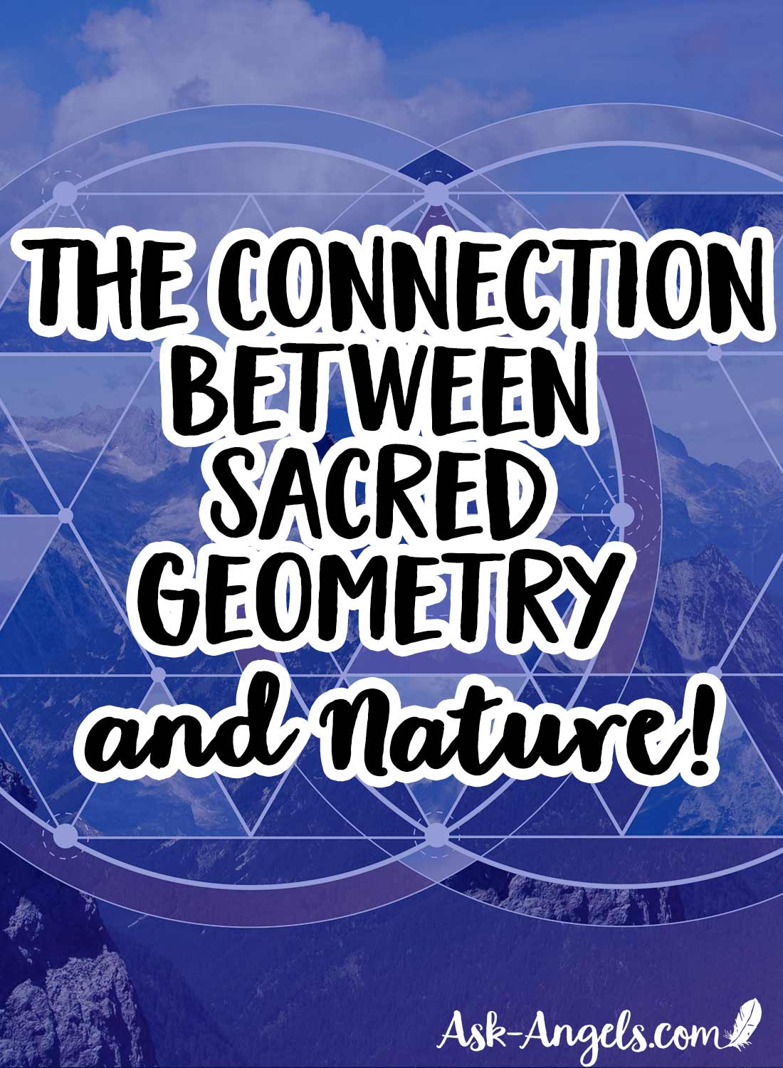 Exploring the Connection between Sacred Geometry and Nature