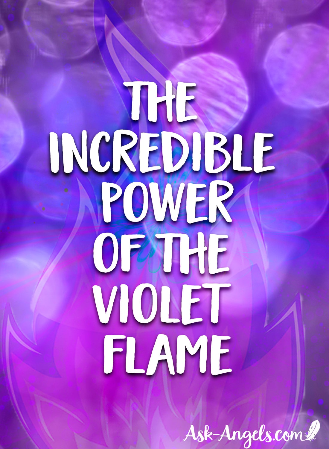 The energy of the Violet Flame is truly incredible!