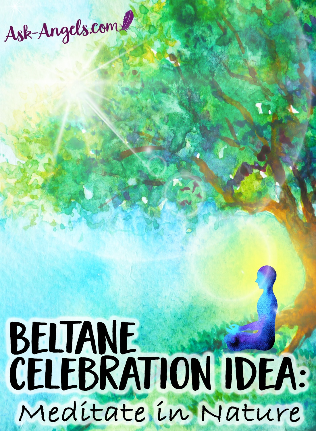 Beltane Celebration Idea - Meditate In Nature
