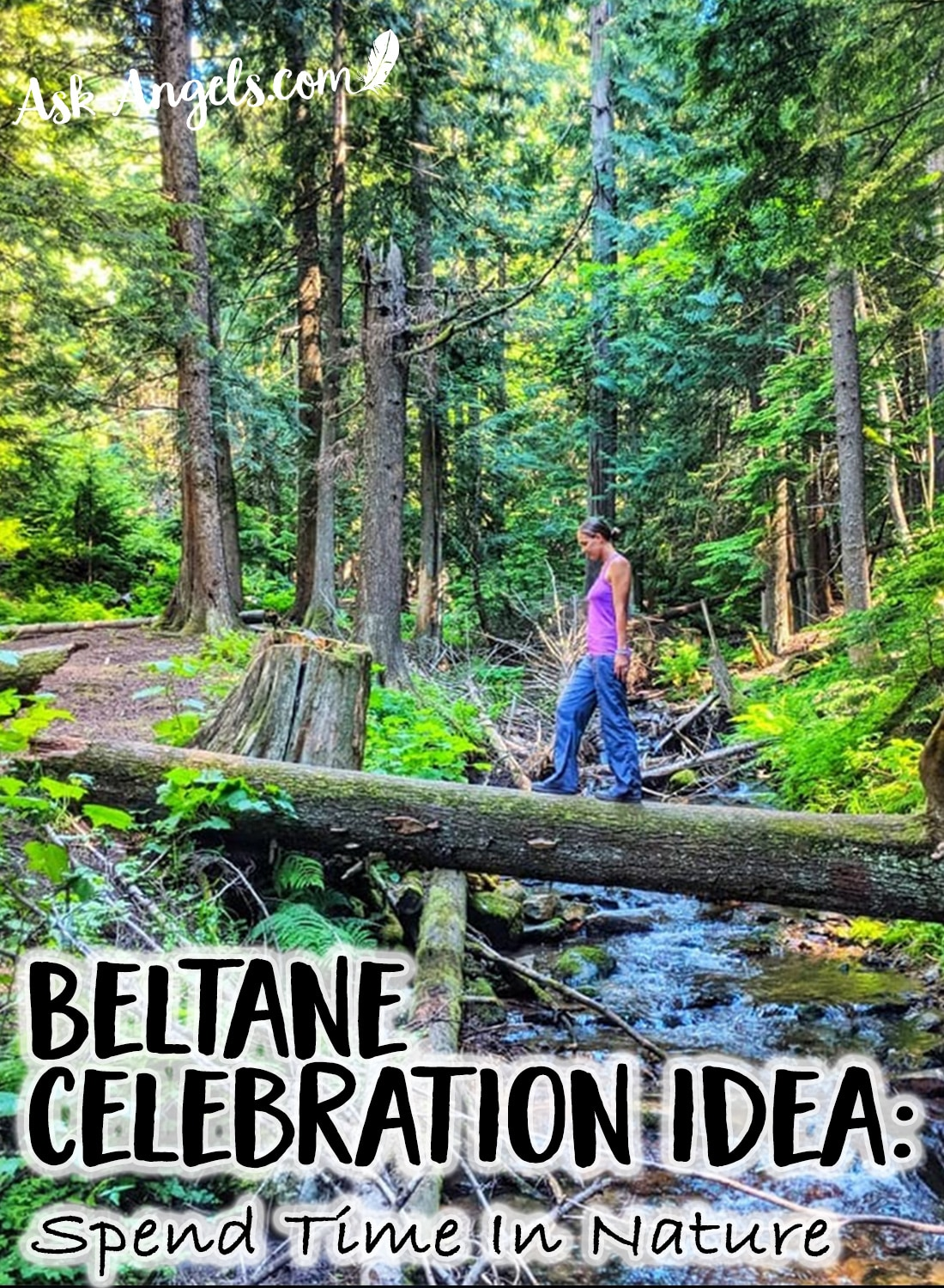 Beltane Celebration Idea - Spend Time In Nature