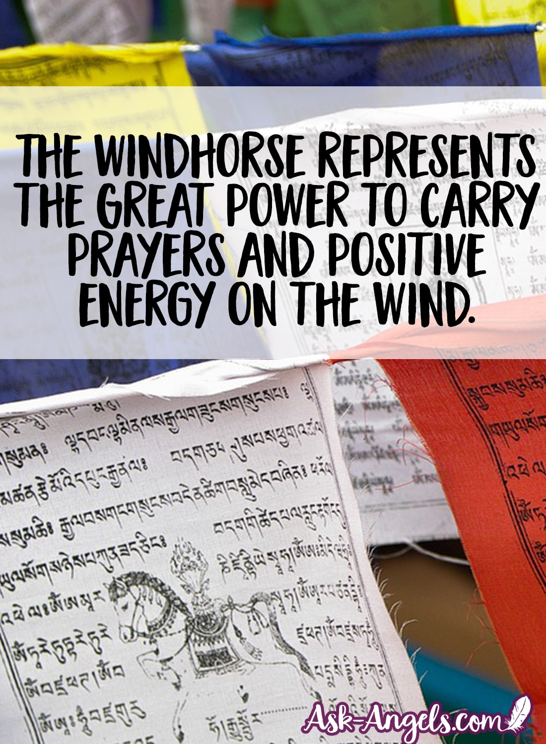 Tibetan Prayer Flags Meaning- The Windhorse