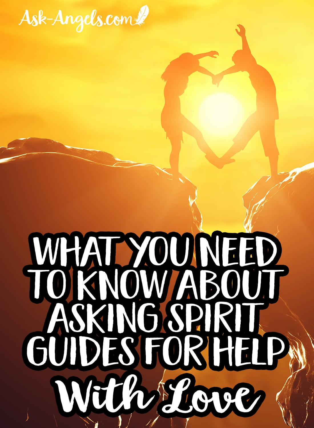 What you need to know about asking spirit guides for help with love