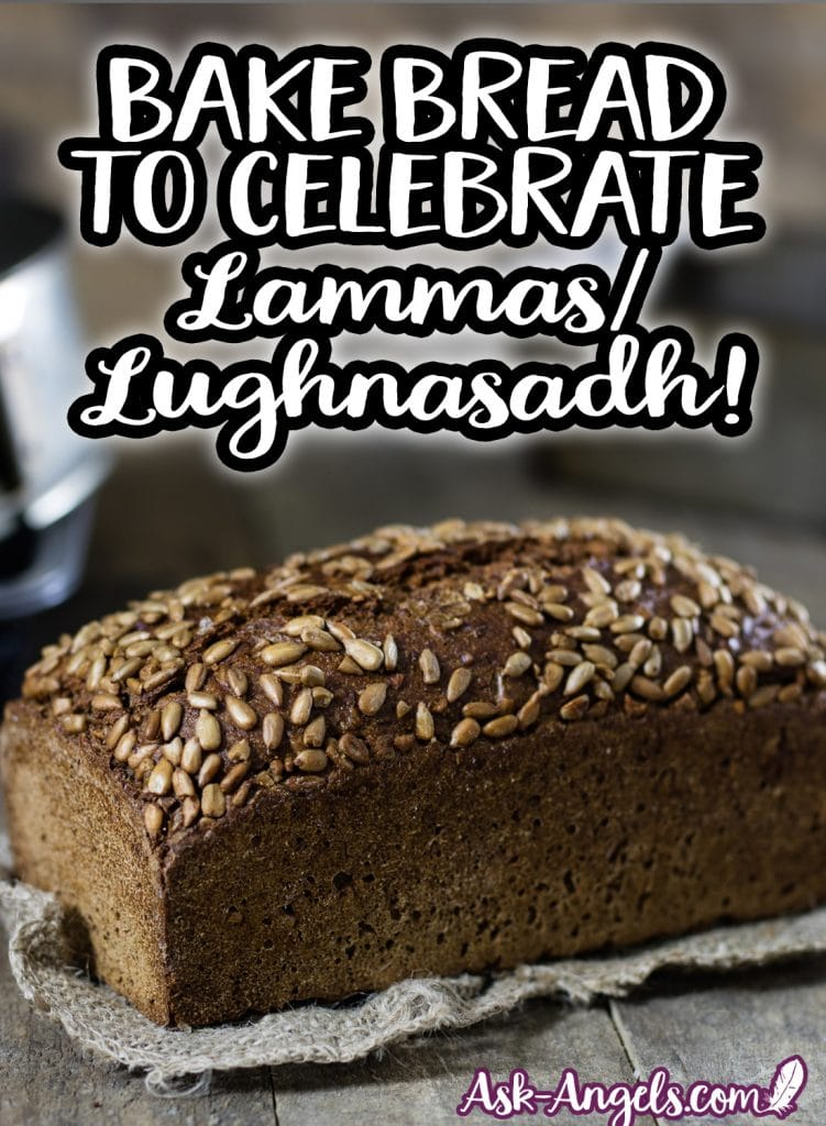 Bake Bread to celebrate Lammas/ Lughnasadh!