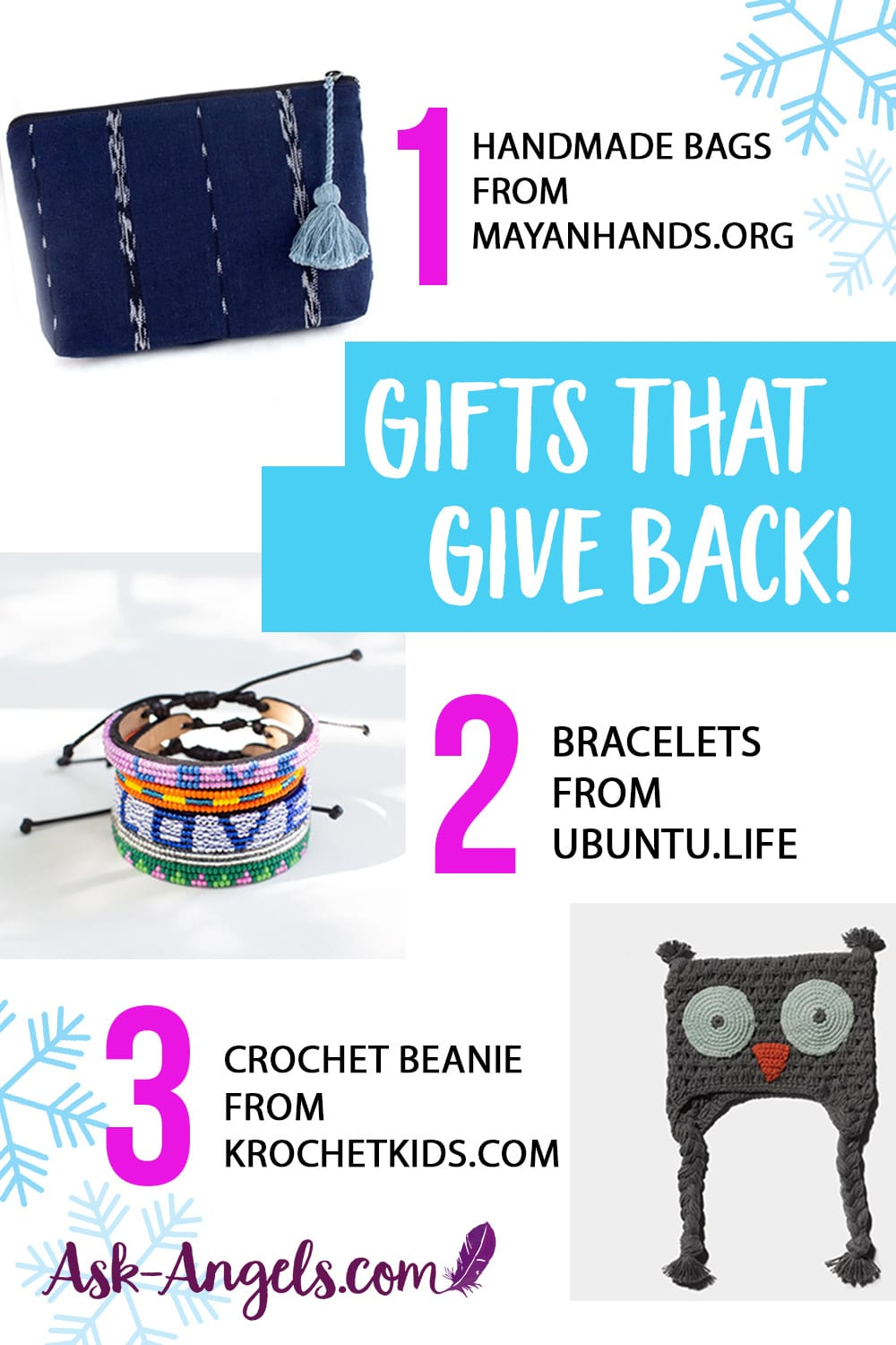 Conscious and Ethical Gifts – Give Gifts that Give Back this Christmas!