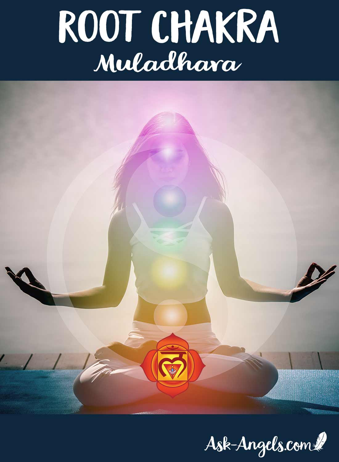 The root chakra is the foundation of your energetic body and the base support for the rest of your chakra system.